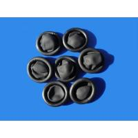 Quality black conductive textured powder free finger cot SML available for sale
