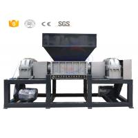 Quality High duty double shaft waste metal shredder machine manufacturer with CE for sale