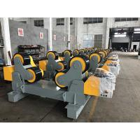 Quality 20T Pu Wheels Pipe Welding Rotator Tank Turning Rolls Using For Oil Tank / Wind Tower for sale