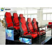 Quality Special Design 7D Movie Theater / Small Motion Cinema / Durable Digital 7D Simulator for sale