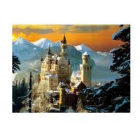 Quality Stock Neuschwanstein Castle 3D Lenticular Living Room Painting Picture PET Printing for sale