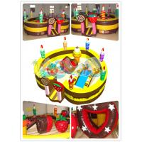 Quality Inflatable  Birthday Cake playground for sale