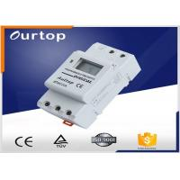 Quality 1 Changeover Programmable Digital Timer Switch 3 Years Lithium Battery for sale