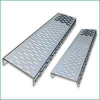 Quality Fiber Reinforced Plastics GRP Perforated Cable Tray with Electro zinc plated for indoor for sale