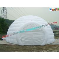 Quality PVC Coated Nylon Inflatable Party Tent Customzied Dome For Exhibition for sale