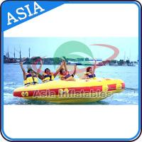 Buy 4 Seats Bali Rolling Donut Inflatable Boats Rider For Water Sport Games at wholesale prices