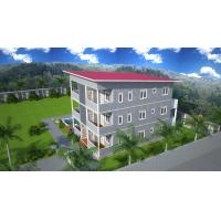 Quality Prefabricated Apartment Buildings / Living Or Office Supply Buildings for sale