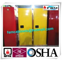 Buy Fireproof Industrial Safety Cabinets , Chemical Storage Cupboards For Flammables at wholesale prices