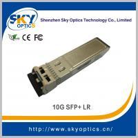 China 10g sfp+ LR 10Gb/s compatible sfp 1310nm 10km reach SMF module for sale