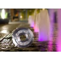 Buy cheap 12v / 24v 9watt LED Underwater Light For Fountains / LED Waterfall Lights from wholesalers