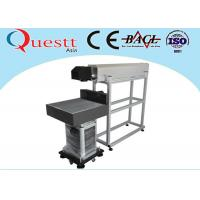 China 20W CO2 Laser Marking System , RF Metal Tube Table Top Laser Etching Machine on sale