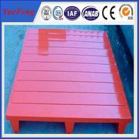 Quality Painting/powder coating red color aluminum alloy pallets, pallets for sale for sale
