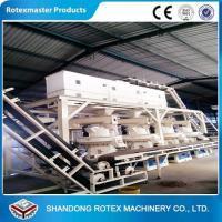 China Wheat Straw Rice Husk Wood Pellet Production Line With 12 Months Warranty on sale