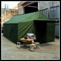 Buy cheap Outdoor Green Army Tube Tent Oxford Tent Waterproof Army Tent from wholesalers