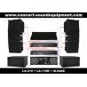 480W Line Array Sound System With 1.4+2x10 Neodymium Drivers for sale