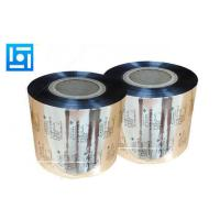Quality Eco - Friendly Foil Roll Laminating Film 140 Microns Plastic Film Packaging for sale