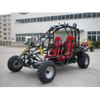Quality Red 250CC Racing Go Kart Buggy For Adult , 2 Seats Shaft Drive Dune Buggy for sale