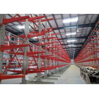 Quality Detachable Cantilever Pipe Rack , Industrial Metal Storage Racks With Corrosion Protection for sale