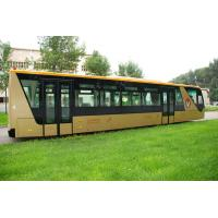 China 13 Seater 77 Passenger International Airport Bus Ramp Bus With Adjustable Seats on sale