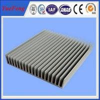 Quality large aluminum profile flat heat sink for led street light for sale