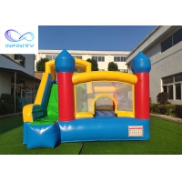 Quality En14960 Commercial Inflatable Bouncy Castle With Slide for sale