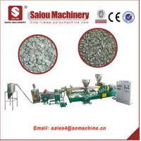 Quality PS recycle plastic flakes force feeder recycling polystyrene recycling machine for sale