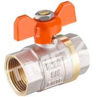 1/2 inch brass ball valve with brass body stainless steel butterfly handle and CE approved for sale