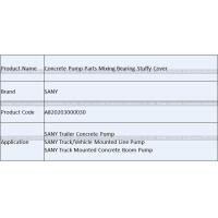 Buy Concrete Pump Spare Parts SANY Mixing Seal Cone Bearing Stuffy Cover A8202030000 at wholesale prices