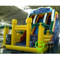 Quality 2016 hot sell  inflatable trippo slide with 24months warranty GT-SAR-1605 for sale
