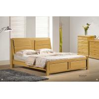 Quality Modern beech solid Wood bed home furniture for sale