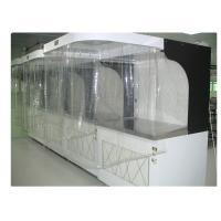 Quality ISO 5 Photoelectric Industrial Laminar Air Flow Cabinet Hood Filtered 220V / 60HZ for sale