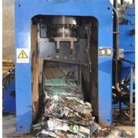 Quality Automatic Scrap Shear Baler For Copper 3 - 4 Times / Min Cutting Frequency for sale