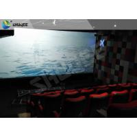 Quality Sound Vibration Motion Imax Movie Theater Red For Shopping Center for sale
