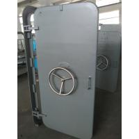 Quality A60 Marine Access Doors Fire Proof Single Leaf Wheel Handle Watertight Steel Doors for sale