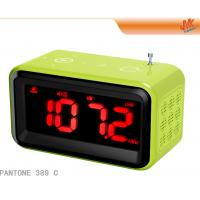 Buy Mini Speaker Digital Alarm Electronic Calendar Clock With Radio, Touch Screen Keys at wholesale prices