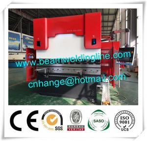 Quality WC67Y 300t / 3200 Hydraulic Press Brake Machine , Steel Bending Machine Delem System for sale