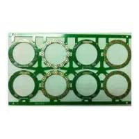 Quality CEM-3 , Teflon fr4 0.8mm single-sided pcb boards 0.8mm , Flash Gold , OSP Finishing for sale
