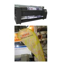 Quality Polyester Fabric Colorful Digital Printing Machinery CMYK 2.3m Width for sale
