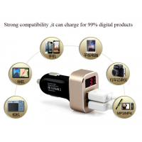 Buy cheap manufacture of Customized car charger quik charge rapid charge mobile phone from wholesalers
