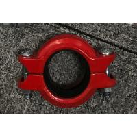 Quality High Pressure Hose Clamps Spheroidal Graphite Cast Iron Red or Blue plating Surface finish for sale