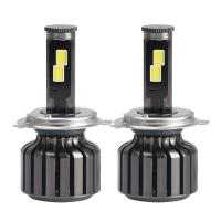 Quality H4 H7 Auto Parts Car Led Headlights LED Car Accessories 60W Per Light Hi Lo Beam for sale