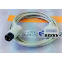 Quality 6 Leads Compatible ECG Monitor Cable , 6 Pin Ecg Cables And Leadwires for sale