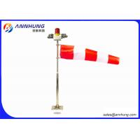 Quality Red and White Wind Sock Wind Cone for Indicating Heliport Wind Direction for sale