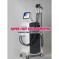 Quality E-light ipl rf nd yag laser multifunction machine , skin rejuvenation and hair removal for sale