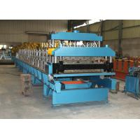 Quality Guide Pillar Steel Color Roof Tile Roll Forming Machine High Precsion for sale