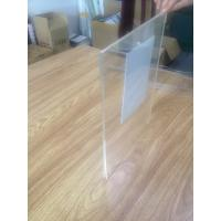 Quality Clear Wall Mounted Acrylic Poster Frame Double Layers Acrylic Photo Frame for sale