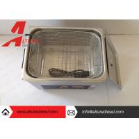 Buy cheap Silver Mechanical Ultrasonic Cleaners Ultrasonic Cleaning Tanks from wholesalers