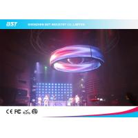 Quality Waterproof SMD3528 P7.62 Flexible Led Video Screen For Stage Backdrop for sale