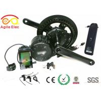 Quality 350W Bafang Crank Electric Bicycle Motor Kit With Hailong Type Battery for sale