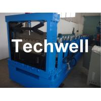 Quality Hydraulic Cutting Steel C Shaped Purlin Roll Forming Machine For GI, Carbon Steel Material for sale